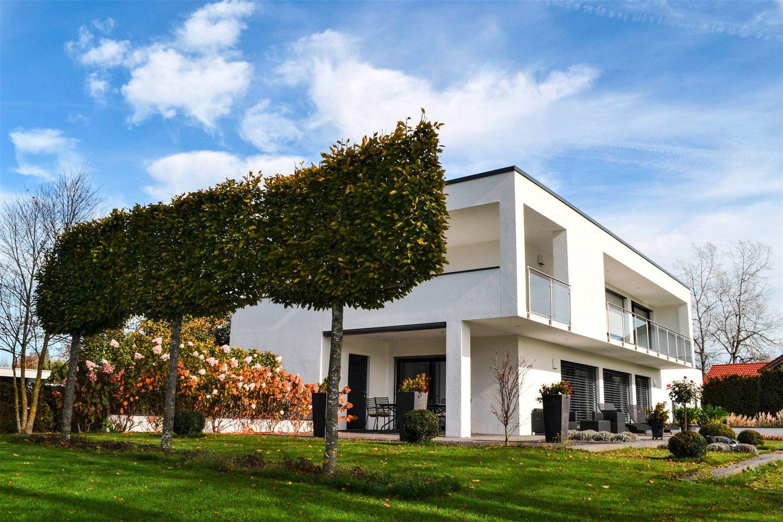 Modernes Bauhaus in Isny
